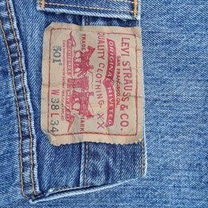 501 LEVI'S Men's Jean's 38x34